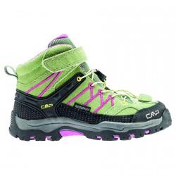 Zapato trekking Cmp Rigel Mid Junior verde-fucsia (30-37)