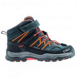 Zapato trekking Cmp Rigel Mid Junior gris-naranja (38-41)