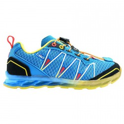 Chaussure trail running Atlas Junior royal-jaune (25-32)