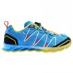 Zapato trail running Atlas Junior royal-amarillo (25-32)