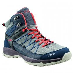 Zapato trekking Cmp Aldebaran Mid Hiking Hombre gris-azul