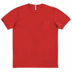 T-shirt Sun68 Round rosso