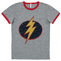 T-shirt Sun68 Hero Junior grey (8-10 years)
