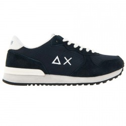 Sneakers Sun68 Running Solid Color Homme bleu