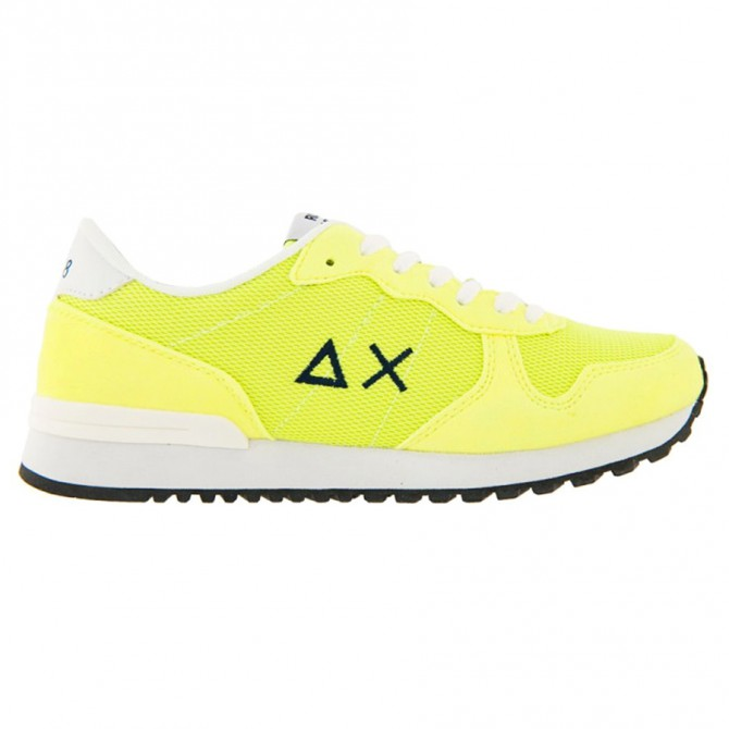 Sneakers Sun68 Running Fluo Color Uomo giallo