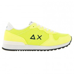 Sneakers Sun68 Running fluo giallo fluo