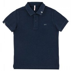 Polo Sun68 Vintage Solid Junior navy (6 years)