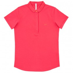 Polo Sun68 El. Star Woman fuchsia