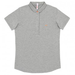 Polo Sun68 El. Star Woman light grey