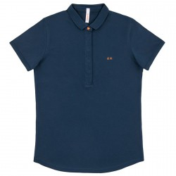 Polo Sun68 El. Star Woman navy
