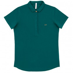 Polo Sun68 El. Star Woman green