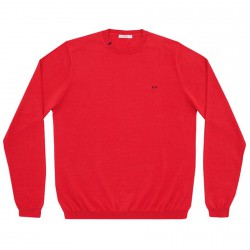 Pull-over Sun68 Solid Homme rouge