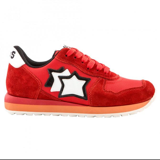 Sneakers Atlantic Stars Mercury Bambino rosso ATLANTIC STARS Scarpe moda