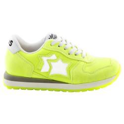 Sneakers Atlantic Stars Mercury Bambina giallo fluo