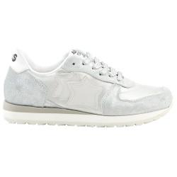 Sneakers Atlantic Stars Mercury Bambina argento-bianco