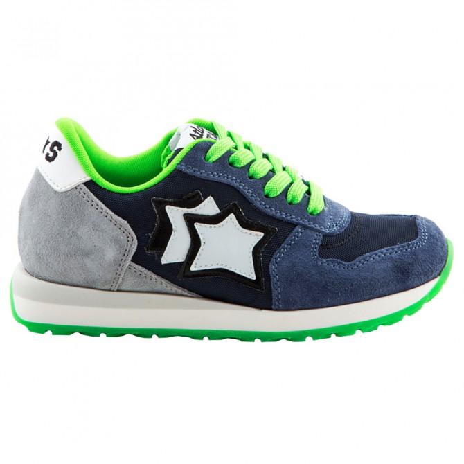 Sneakers Atlantic Stars Mercury Bambino blu-verde ATLANTIC STARS Scarpe moda