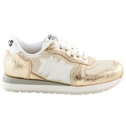 Sneakers Atlantic Stars Mercury Niña oro