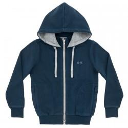 Sweat-shirt Sun68 Hood Garçon navy (16 ans)
