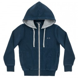Sweat-shirt Sun68 Hood Garçon navy (12-14 ans)