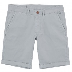 Bermudes Sun68 Fold Solid Homme gris clair