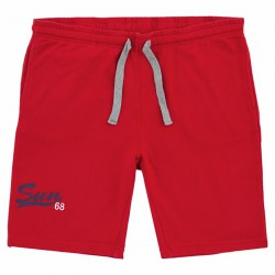 Sweat bermuda Sun68 Print Man red