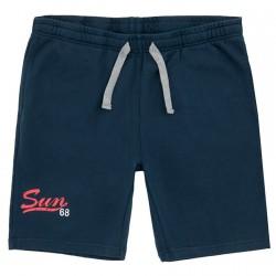 Bermuda felpa Sun68 Solid navy