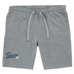 Bermudes survêtement Sun68 Print Homme gris