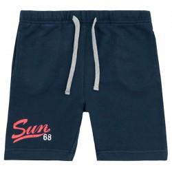 Bermudas deporte Sun68 Print Niño navy (4-6 años)