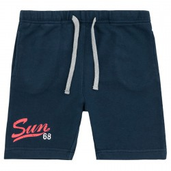 Sweat bermuda Sun68 Print Junior navy (12-16 years)