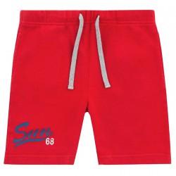 Bermuda felpa Sun68 Print Bambino rosso (8-10 anni)
