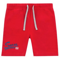 Bermudas deporte Sun68 Print Niño rojo (8-10 años)