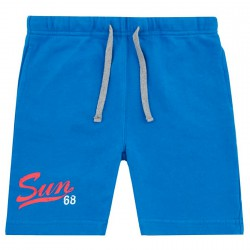 Sweat bermuda Sun68 Print Junior royal (12-16 years)