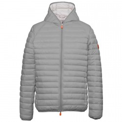 Chaqueta de pluma Save the Duck D3065M Hombre gris