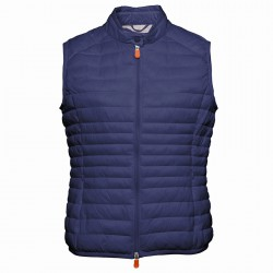 Gilet Save The Duck blu-grigio
