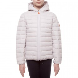 Down jacket Save the Duck J3231G-GIGA4 Girl white (2-8 years)