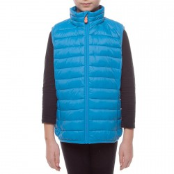 Gilet Save the Duck J8243U-GIGA4 Bambino bluette (12-16 anni)