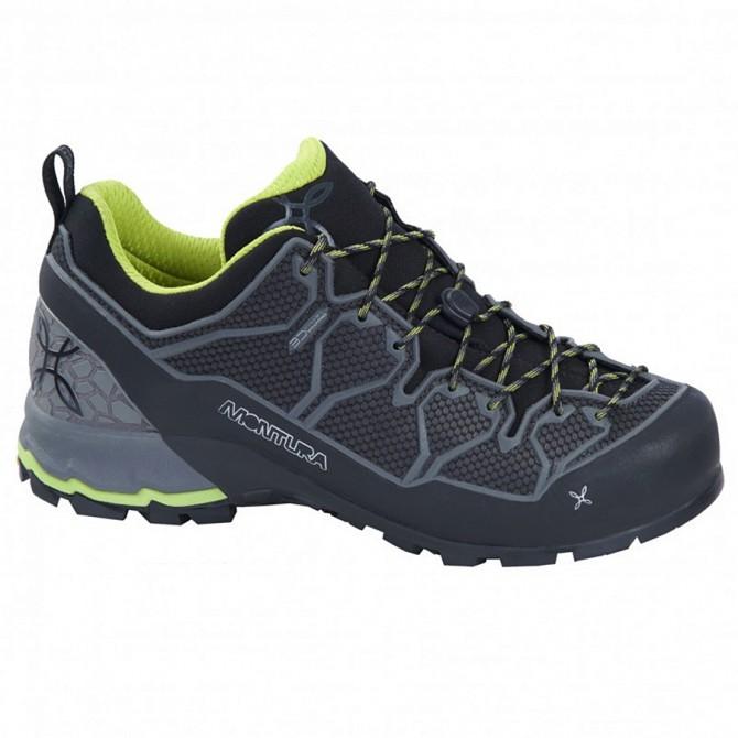Zapatos trekking Montura Yaru Light Hombre negro-verde