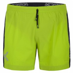 Shorts Montura Run Fast Uomo verde acido