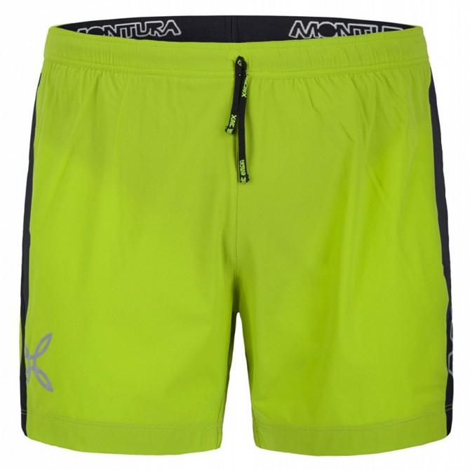 Short running Montura Fast verde acido