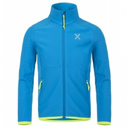 Trekking sweater Montura Stretch 2 Junior light blue