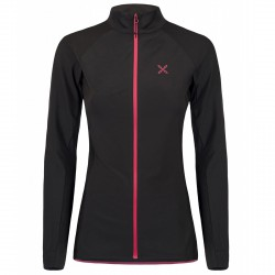 Trekking fleece Montura Light Woman black-pink