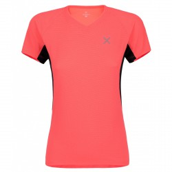 T-shirt intime Montura Skin 2 Femme corail