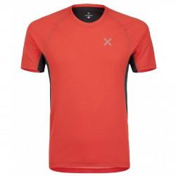 T-shirt trekking Montura Skin 2 aragosta