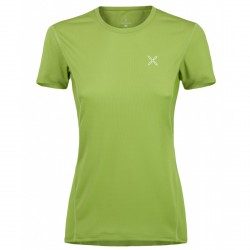 T-shirt trekking Montura Outdoor World Donna verde acido