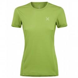 T-shirt trekking Montura Outdoor World Mujer verde ácido