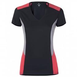 T-shirt trekking Montura Outdoor Sunny Donna ardesia-corallo