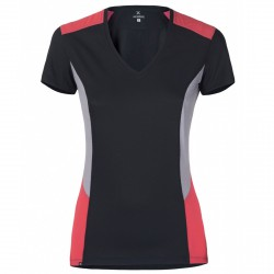 T-shirt trekking Montura Outdoor Sunny Mujer gris-coral