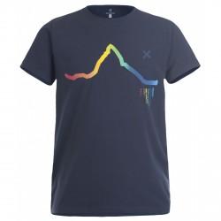 T-shirt trekking Montura Skyline Rainbow Hombre azul