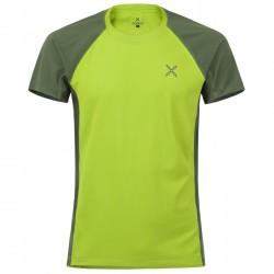T-shirt trekking Montura Hill Outdoor verde acidoverde muschio