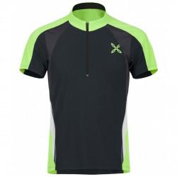 T-shirt running Montura Racy Uomo ardesia-verde